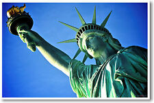 Statue of Liberty NYC - New York City - Ellis Island USA America - NEW POSTER