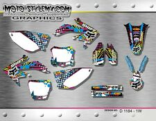 Moto StyleMX Honda graphics decals sticker kit  CRf 450 R 2005 up to 2008