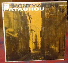 Patachou: Montmartre LP Columbia CL 571