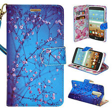 For LG K10 Cell Phone Case Hybrid Luxury PU Leather Wallet Pouch Flip Cover