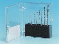 HSS Twist Drill Set high speed, PCB, HOBBY, drills in  storage case 0.5 - 2mm