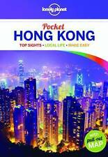 NEW, LONELY PLANET. POCKET HONG KONG. WITH PULL OUT MAP