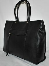 Rebecca Minkoff 'Large MAB' Leather Tote, BLACK - NEW (See Condition)