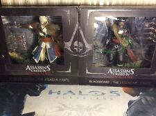Assassins Creed Black Flag Diorama Edward Kenway & Blackbeard Statues Ubi