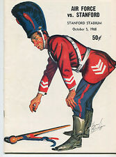 Stanford vs  Air Force  College Football Program Oct 5,1968  MBX66