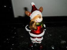 Weihnachtselch Elch - Schneemann - neu