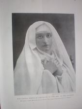 Printed photo actress Cynthia Brooke in the Jest Criterion Theatre London 1899