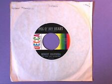 "Robert Maxwell - Peg O' My Heart (7"" single) US release 25637"