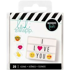 NEW Heidi Swapp Emoji Marquee Love Lightbox Icons photography props