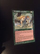 MTG MAGIC WEATHERLIGHT GAEA'S BLESSING (FRENCH BENEDICTION SELON GAIA) NM