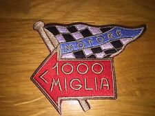 1000 MILLE MIGLIA ARROW RALLY FERRARI LOTUS FIAT ITALY RACING FLAG PATCH