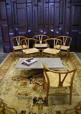 6 Vintage Hans Wegner Wishbone Chairs *Great Condition*