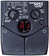ZOOM 505 II 11 MK 2 GUITAR MULTI EFFECTS PEDAL & POWER SUPPLY