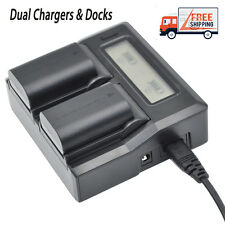 LCD Display Dual Digital Battery Charger for Sony NPF330 NP-F550 NP-F750 NP-F970