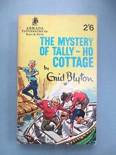 VINTAGE Enid Blyton Book MYSTERY OF TALLY HO COTTAGE Five Find outers 1965 VGC