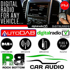 AUTODAB FM DAB+ Car Stereo FM Radio Digital Tuner & Glass Aerial Upgrade Kit