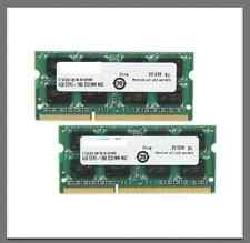2x 4GB 8GB DDR3 1066 Mhz 1067 Apple MacBook Pro mac mini iMac PC3-8500S SO-DIMM