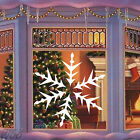 Christmas White Snowflake Large Art Decal Vinyl Sticker For Window Wall