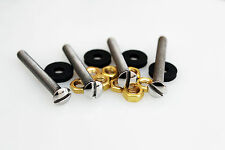Garrard 301 Mounting Bolts 50mm Set with Nuts and Isolation Washers