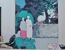 """GABRIEL GODARD """"RECONTRE"""" MEETING HAND SIGNED # 87/180 LITHOGRAPH 27X36 french"""
