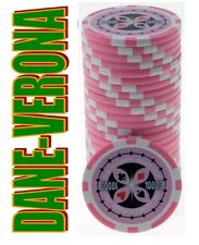 BLISTER da 25 Fiches/Chips 14 gr. mod. ULTIMATE POKER Valore 10.000