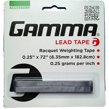 Gamma Lead Tape Tennis Badminton Squash Racquet Weighting