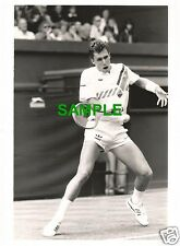 ORIGINAL PRESS PHOTO - WIMBLEDON 1986 TENNIS STAR IVAN LENDL