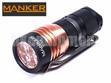 MANKER E14 Cree XP-G3 LED 1600lm 18350 Flashlight 2016