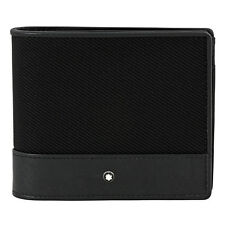 Montblanc Nightflight 4 CC Wallet with Coin Pouch - Black