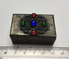 Vintage Arts And Crafts Style Pin Box. Attractive.