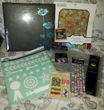 Scrapbook and Craft Materials Lot