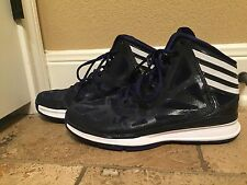 FREE SHIPPING! Men's Adidas Navy Basketball Shoes Size 8.5 LIKE NEW