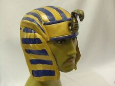 Egyptian Headpiece ~ Pharaoh ~ King  ~ Latex ~ Hat ~ NEW ~ A