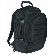 NEW - Military Tactical Duty Modular MOLLE Backpack - SWAT BLACK