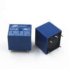 12V DC Coil SONGLE Power Relay SRD-12VDC-SL-C PCB Type pack of 10pcs