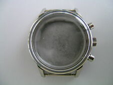 Valjoux 7734: Chrono-Uhrgehäuse Stahl mit geschraubtem Boden