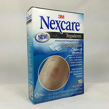 3M Nexcare Tegaderm, Waterproof Transparent Dressing, 10ct 051131211834T550