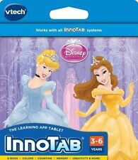 VTECH INNOTAB  2 2S 3 3S  Learning Game Cartridge Disney Princess New BDay Xmas