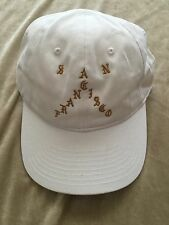Kanye West The Life of Pablo Pop Up SAN FRANCISCO SF WHITE Baseball Cap Hat O/S