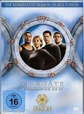STARGATE SG-1 SEASON 10 (Box-Set 5 DVDs) NEU+OVP