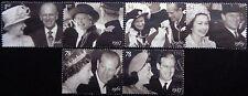 GB 2007 Diamond Wedding of Queen Elizabeth II & Duke of Edinburgh Used ex FDC