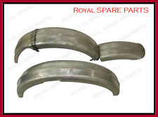 New Ariel WNG Model Front and Rear Mudguards Raw Steel