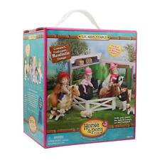Only Hearts Horse & Pony Club Li'l Kids Stable Fold-open Realistic Design Toy
