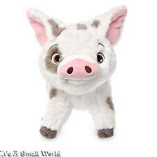 """Disney Store Exclusive Moana Pua Plush Pig Small Doll Authentic Size 9 1/2"""" NWT"""