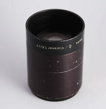 Rare fast VISIONAR 77mm/1.6 projection LENS bokeh dslr F/1.6  Zeiss