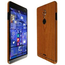 Skinomi Light Wood Skin+Clear Screen Protector for HP Elite x3