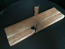 Rabot bois outil ancien pour menuisier ébeniste wood plane tool n°17