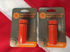 Waterproof match case firestarter emergency disaster tactical preparedness gear2