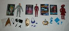 Lot of 3 Star Trek Action Figures - Guinan Kirk Major Kira Nerys TNG DS9