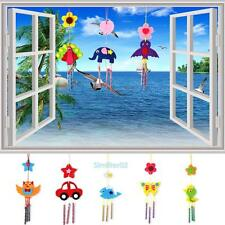 VS2# Kids Children DIY Wind Chimes Bells Educational Puzzle Toys Craft Kits Gif